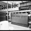 Bryant boiler installation, Francis Willard school, Santa Ana, CA, 1931