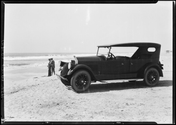 Pierce Arrow Motorlog - Ed Nathan and Chas Bird, Southern California, 1924