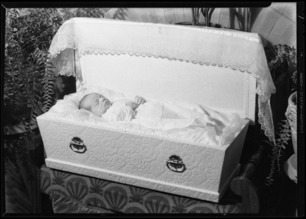 Baby, Robinson Mortuary, Southern California, 1931