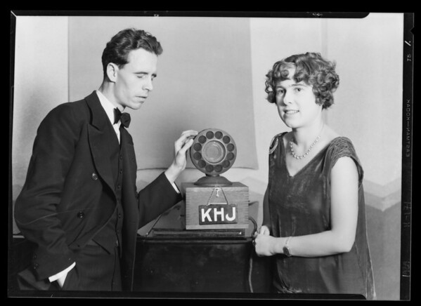 Winners of radio contest, Southern California, 1929