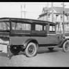 Los Angeles Police Department Printing Bureau car, Southern California, 1930