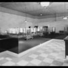 New interior, Citizens Trust and Savings Bank, West 7th Street and South Alvarado Street, Los Angeles, CA, 1928