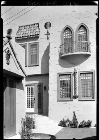 J.M. Close, Southern California, 1924
