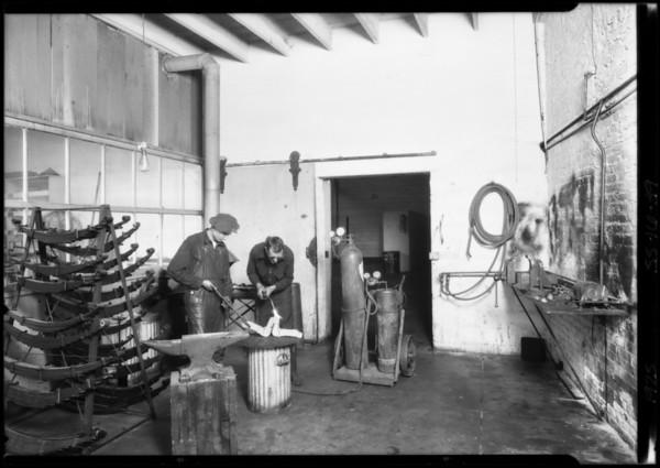 Garage interiors, Broadway Department Store, Los Angeles, CA, 1925