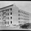 Apartment building on South Hobart Boulevard near San Marino Street, Los Angeles, CA, 1928