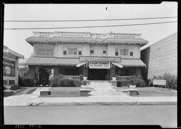 627 South Western Avenue, Los Angeles, CA, 1925