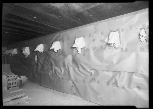 Installations, County Hospital, Newberry Electric Co., Los Angeles, CA, 1931