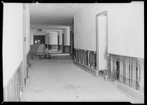 County Hospital, installation, Grassi Co., Los Angeles, CA, 1931