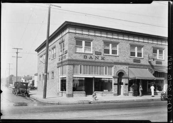 Pacific-Southwest Trust & Savings Bank, 2079 Jefferson Boulevard, Los Angeles, CA, 1924
