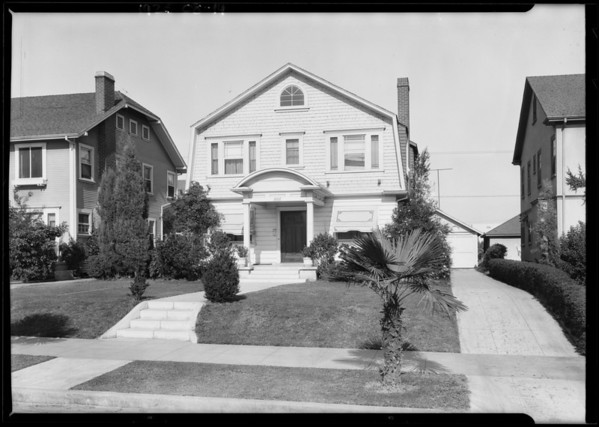 1006 North Edgemont Street, Los Angeles, CA, 1925