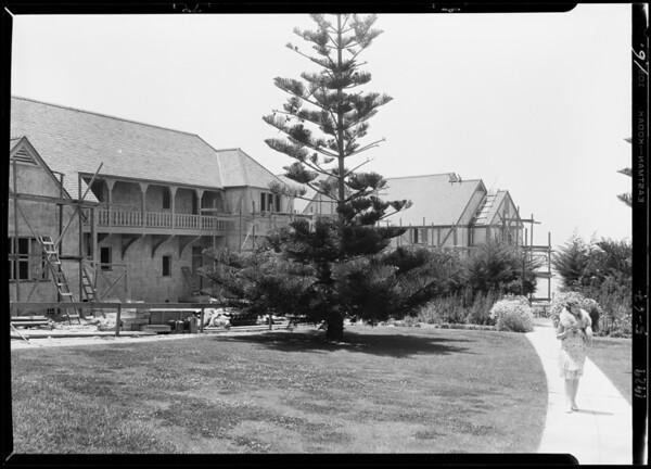 Del Mar Hotel publicity shots, Del Mar, CA, 1929