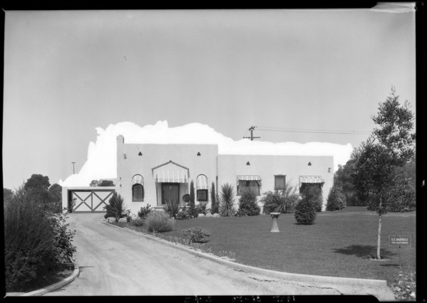 745 Cliffwood Avenue, Brentwood Park, Los Angeles, CA, 1925
