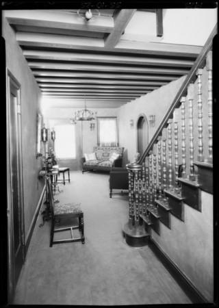 El Miradero Apartments, 5424 Franklin Avenue, Los Angeles, CA, 1925