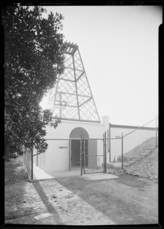 Installation for Alhambra water supply, Southern California, 1929