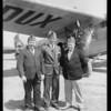American Legion men leaving for San Diego, Southern California, 1928
