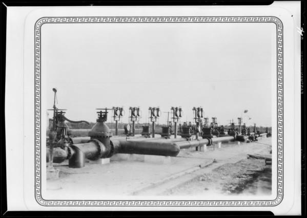 Berge-Nordstrom valves, Southern California, 1929