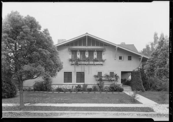 100 West State Street, Pasadena, CA, 1928