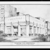 Copy of proposed new building in San Diego, Southern California, 1928