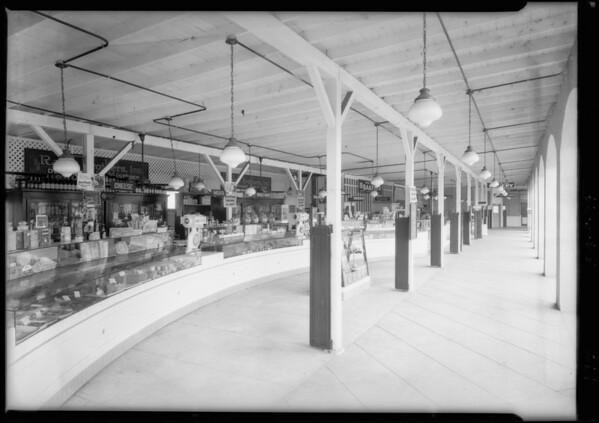 Rabin Market view, Glendale, CA, 1925