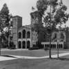 A view of a main building at the University of California at Los Angeles (UCLA)