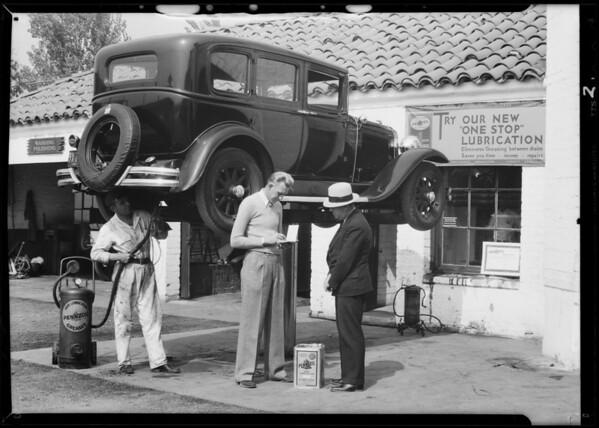 El Dorado motor service, Southern California, 1931