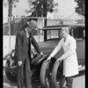 Man & Tire, Western Auto Supply Co., Southern California, 1930