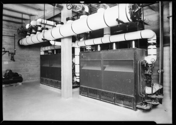 Chaffey Union High School, (Bryant boiler) at Ontario, CA, 1931