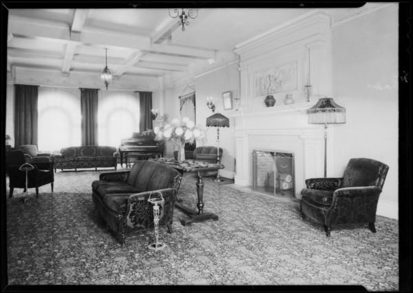 Hotel Belmont, Southern California, 1931