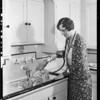 Dish washer, Southern California, 1931