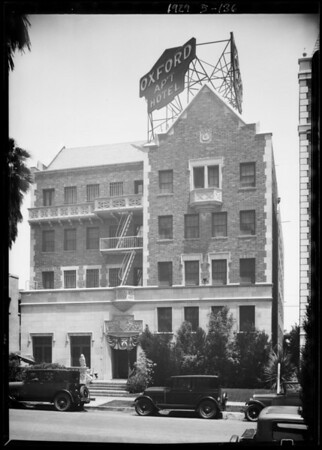 Oxford Apartments, 608 South St. Andrews Place, Los Angeles, CA, 1929