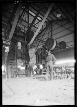 Views around plant, Pacific Coast Drop Forge Co., Southern California, 1930