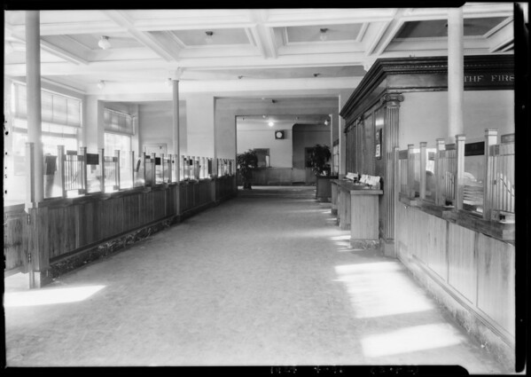 Pacific-Southwest Trust & Savings Bank - Highland and Hollywood Branch, 6781 Hollywood Boulevard, Los Angeles, CA, 1924