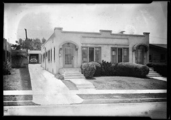 4504-4506 Maplewood Avenue, Los Angeles, CA, 1928