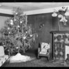 Christmas tree, Harry Davey, Southern California, 1929