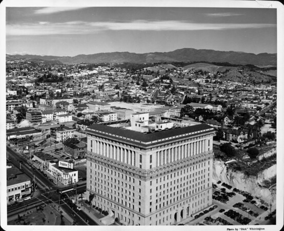 Court house in downtown Los Angeles