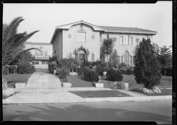 1722 Buckingham Road, Los Angeles, CA, 1928