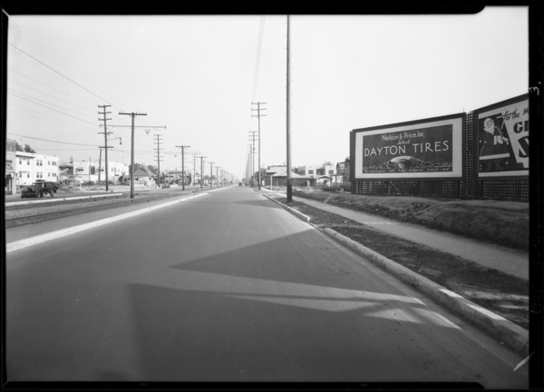 Intersection of Venice Boulevard & 5th Avenue, Los Angeles, CA, 1929