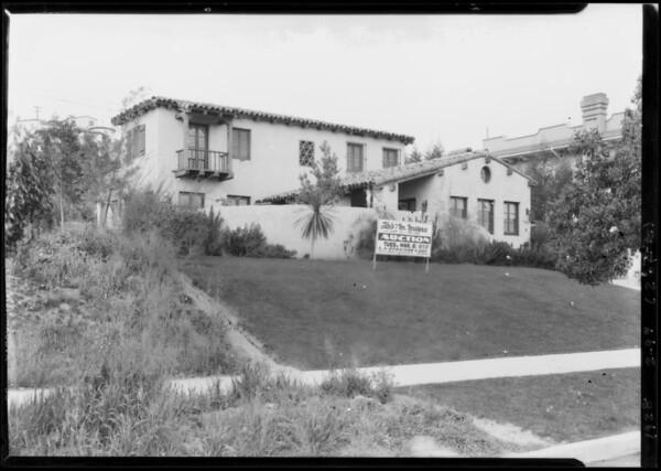 4445 Gainsborough Avenue, Los Angeles, CA, 1928