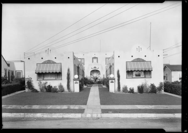 1222 North Kenmore Avenue, Los Angeles, CA, 1925