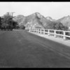 Roadway near Newhall, Southern California, 1929