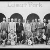 Leimert Park shots with sales group, Los Angeles, CA, 1928