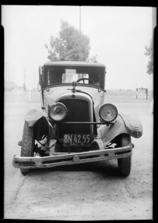 Nash coach, Union Auto Insurance, Southern California, 1931