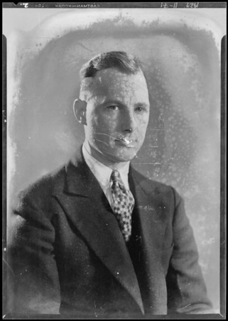 Postcard of Mr. Smith, Hollywood office, Southern California, 1929