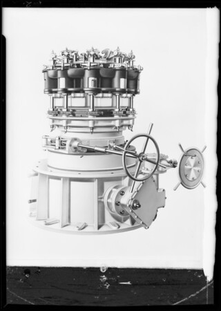 Retouched bread machine, Southern California, 1931