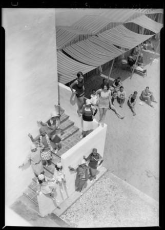 Opening day at Lido Isle, Newport Beach, CA, 1928