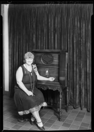 Miss Howard - K.M.T.R., Southern California, 1928