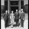 West 6th Street and South Bonnie Brae Street branch, Pacific-Southwest Bank, Los Angeles, CA, 1925