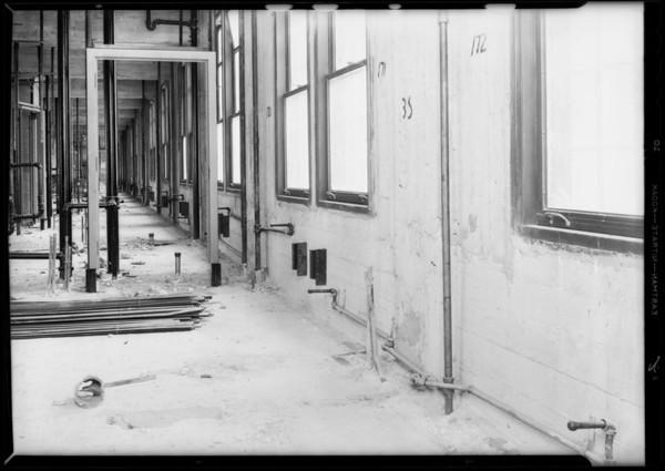 Steam, County Hospital, Howe Bros., Los Angeles, CA, 1931