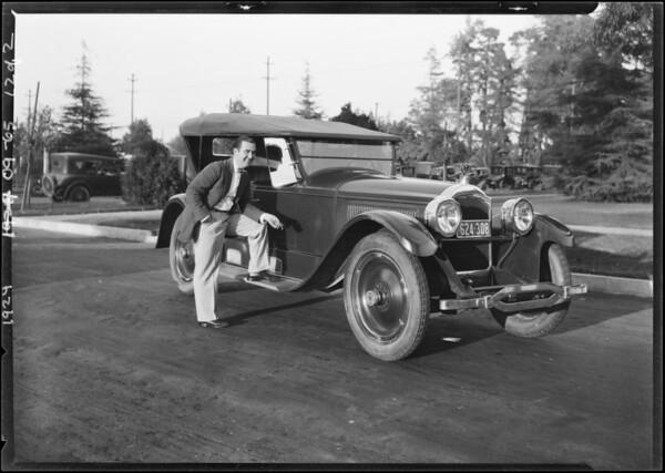 Mr. Kelley, Southern California, 1924