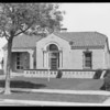 Fire station at 5730 Angeles Mesa, Southern California, 1929